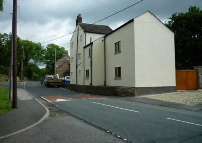Refurbishment to listed buildings