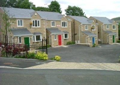 New build property in Mossley