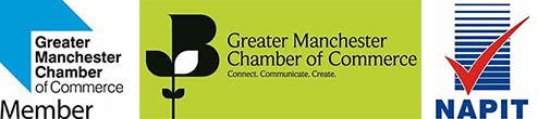 Napit & Greater Manchester Chamber of Commerce Accreditations